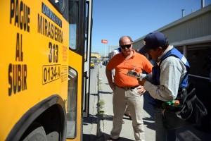 La dirección deTransporte y Salud municipal hacen operativo Antialcohol a transportistas en las zona Mirasierra