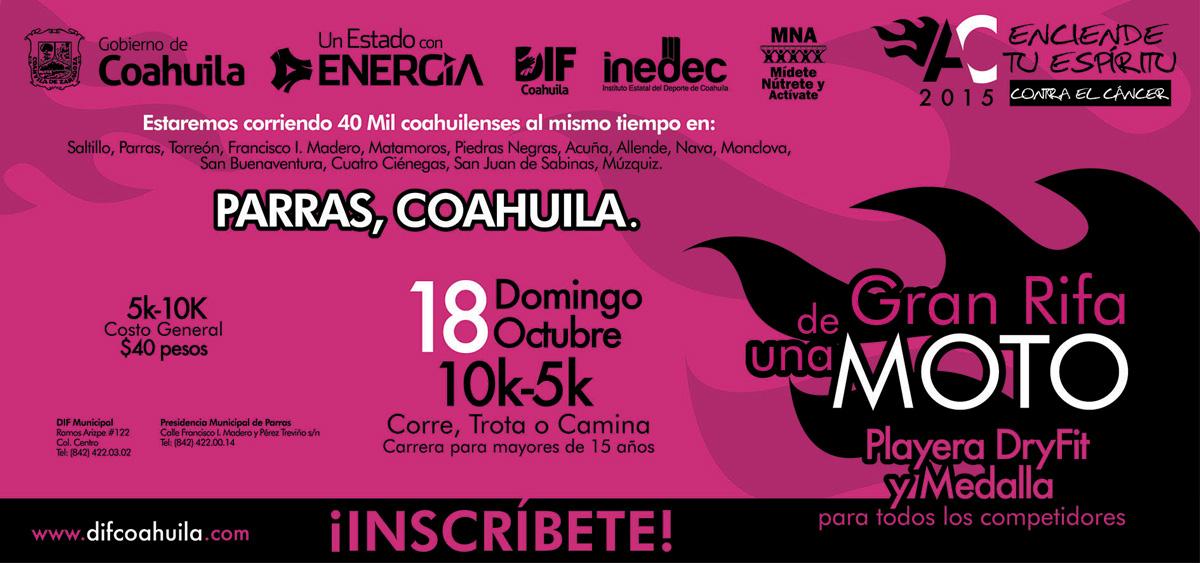 Carrera Activate Coahuila