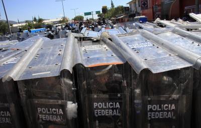 (2)MEXICO-OAXACA-SOCIEDAD-ENFRENTAMIENTO