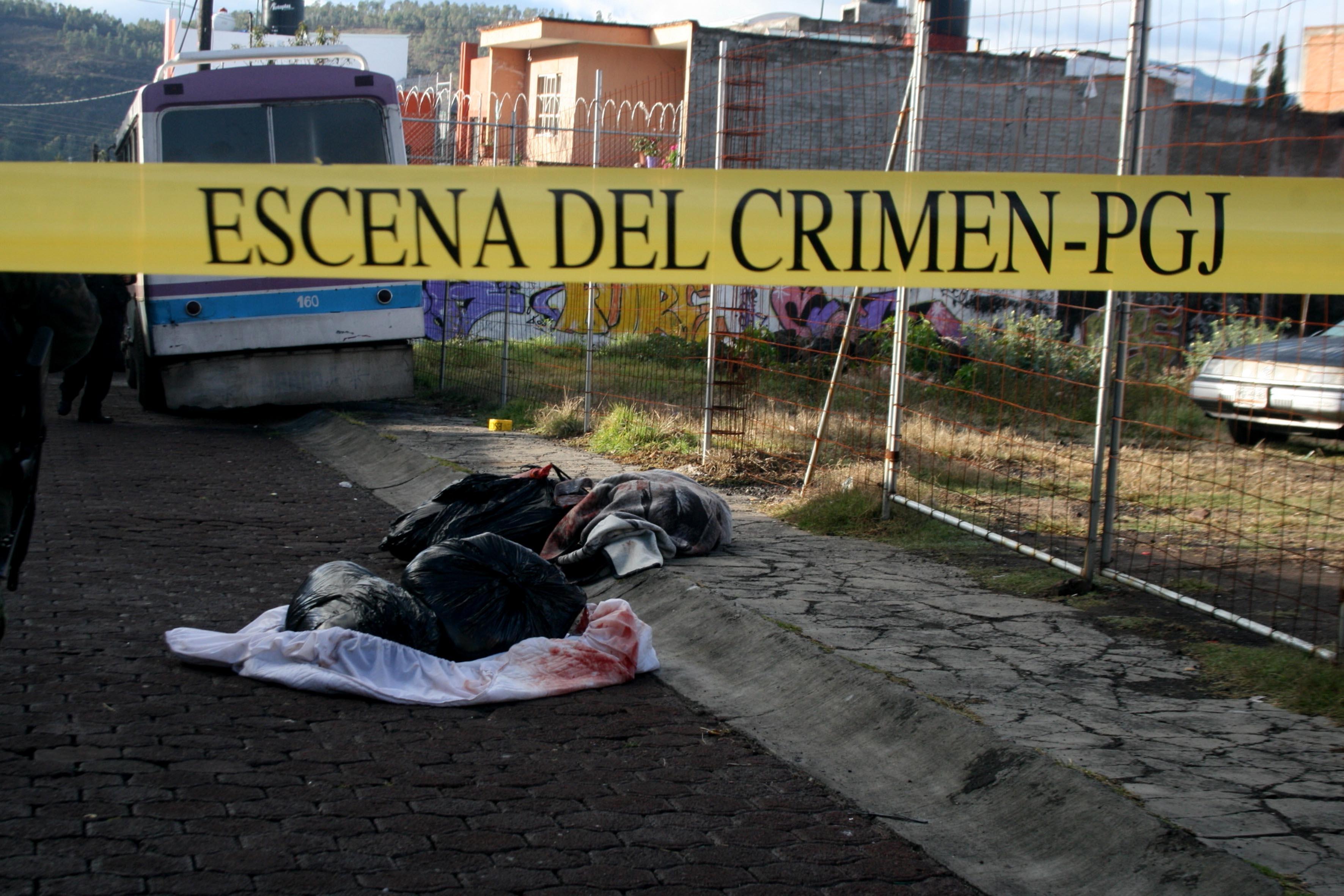 Se incrementan los homicidios dolosos en México
