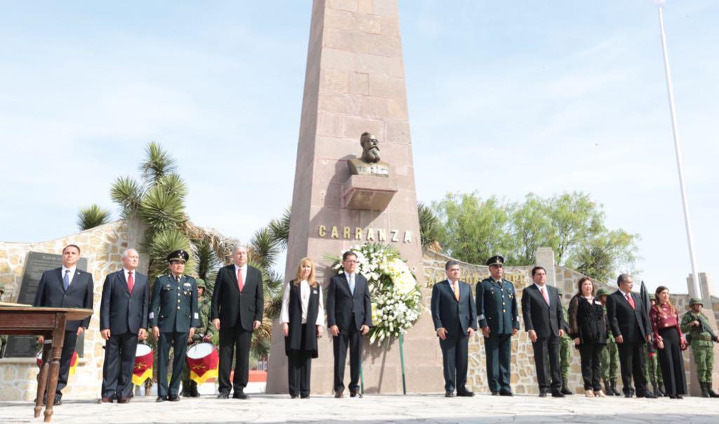 Conmemoran 105 Aniversario de Plan de Guadalupe, nacido en Coahuila