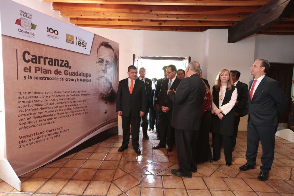 Conmemoran 105 Aniversario del Plan de Guadalupe