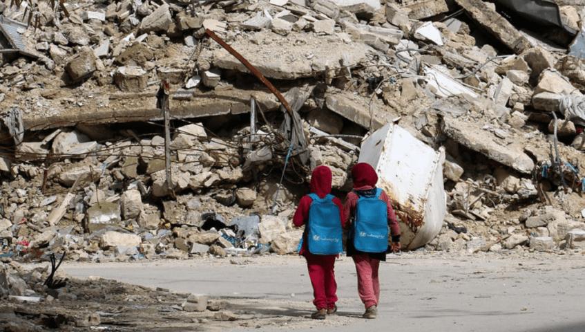 Convoy con ayuda humanitaria logra entrar en Guta Oriental