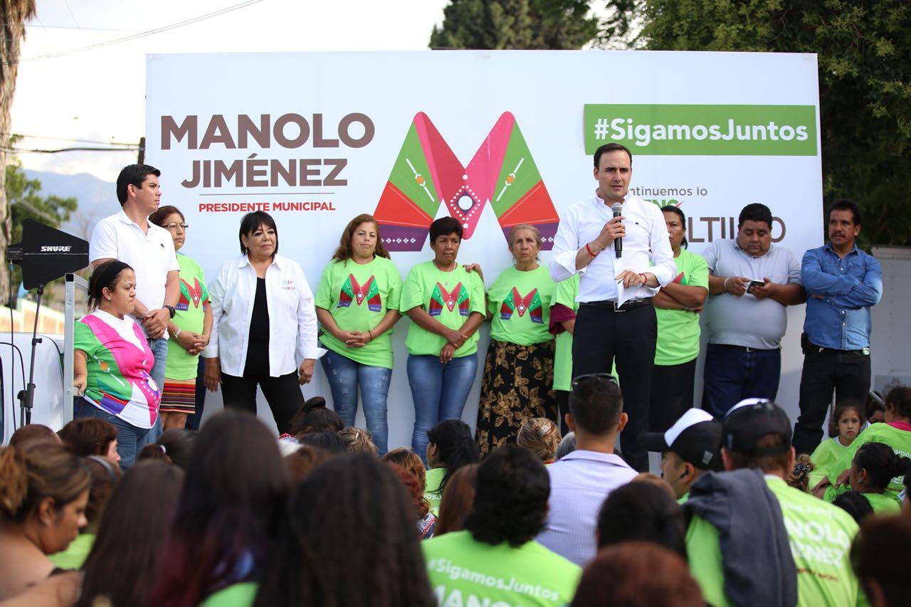 Votar por Manolo es llevar a Saltillo al siguiente nivel