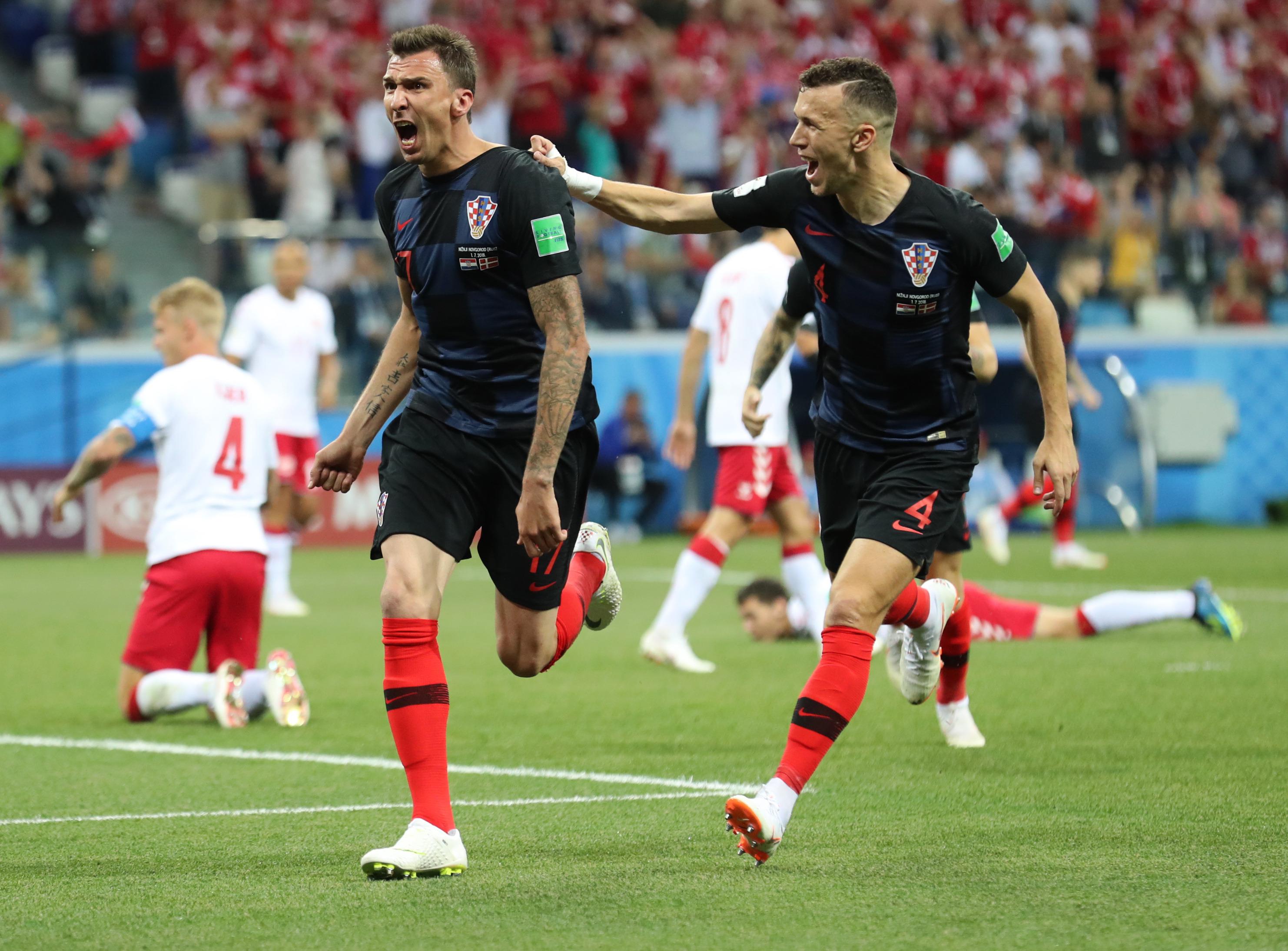 Croacia gana sufriendo a Dinamarca y jugará los cuartos con Rusia ...