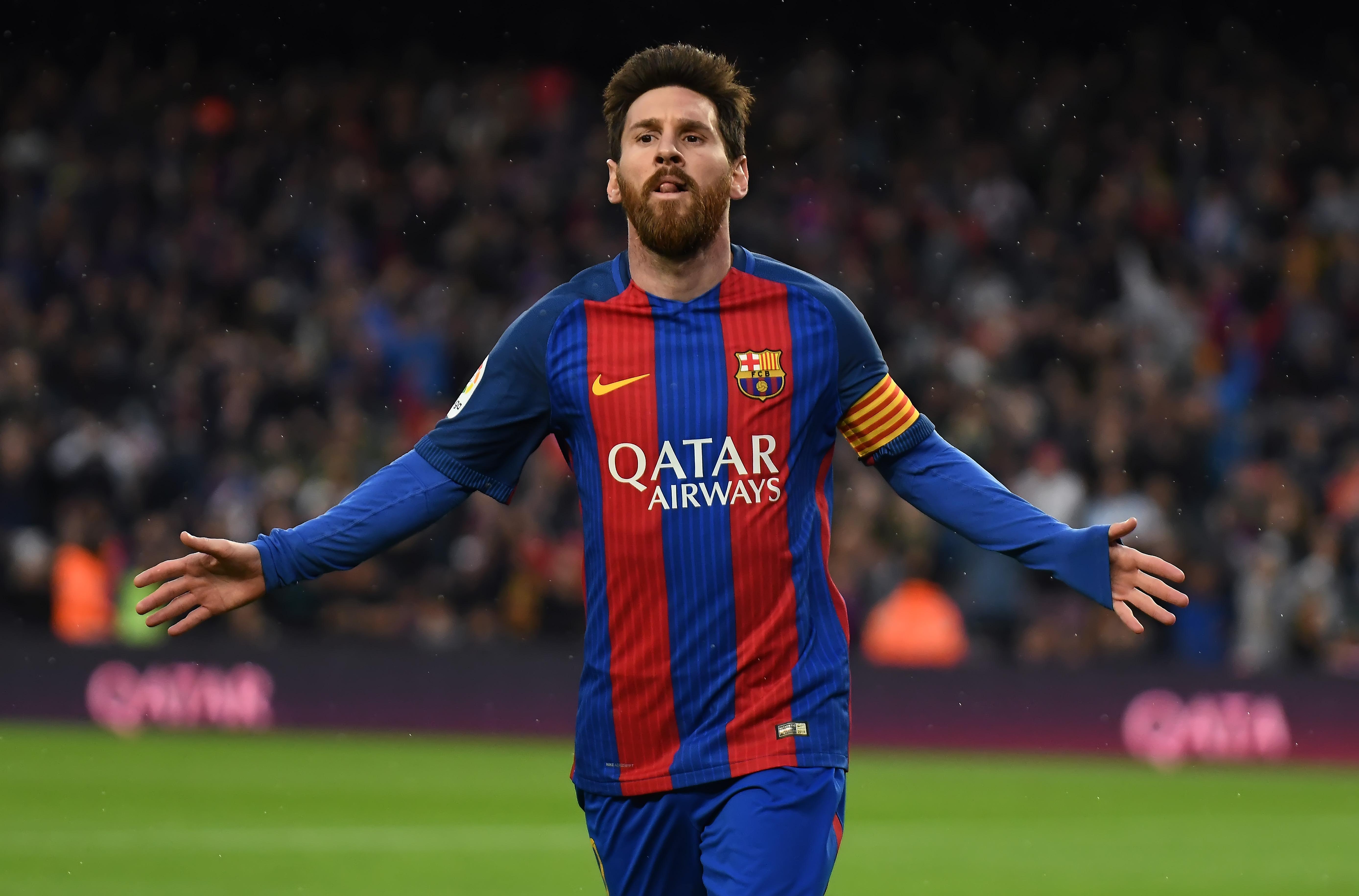 Designan a Messi como mejor jugador de abril en liga española
