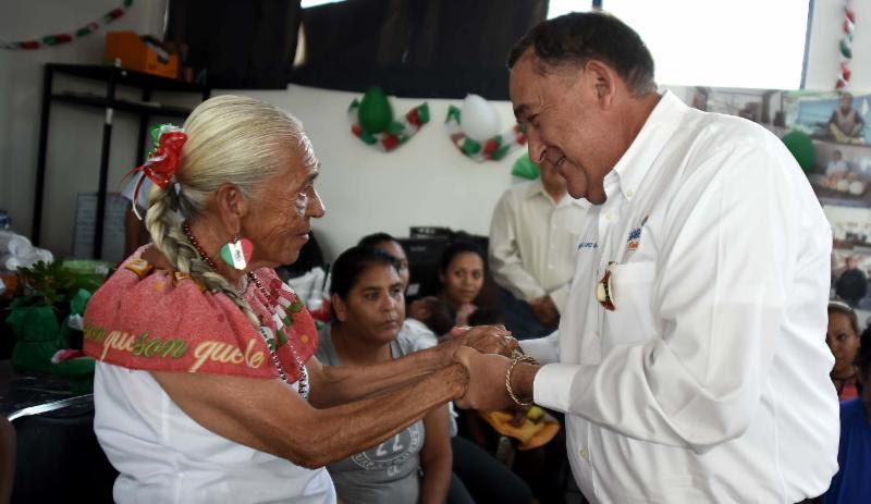 8ae55d7d58 En la fiesta mexicana del Centro Comunitario de la colonia Miguel Hidalgo  estuvieron presentes la Jefa del Gabinete