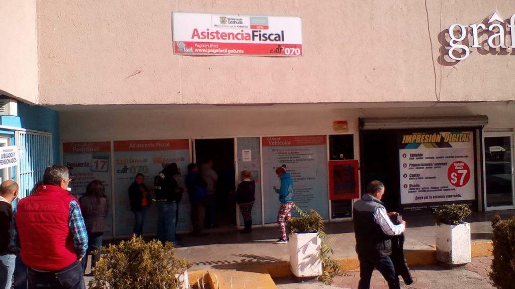 Alta Afluencia Registran Módulos Fiscales El Heraldo De