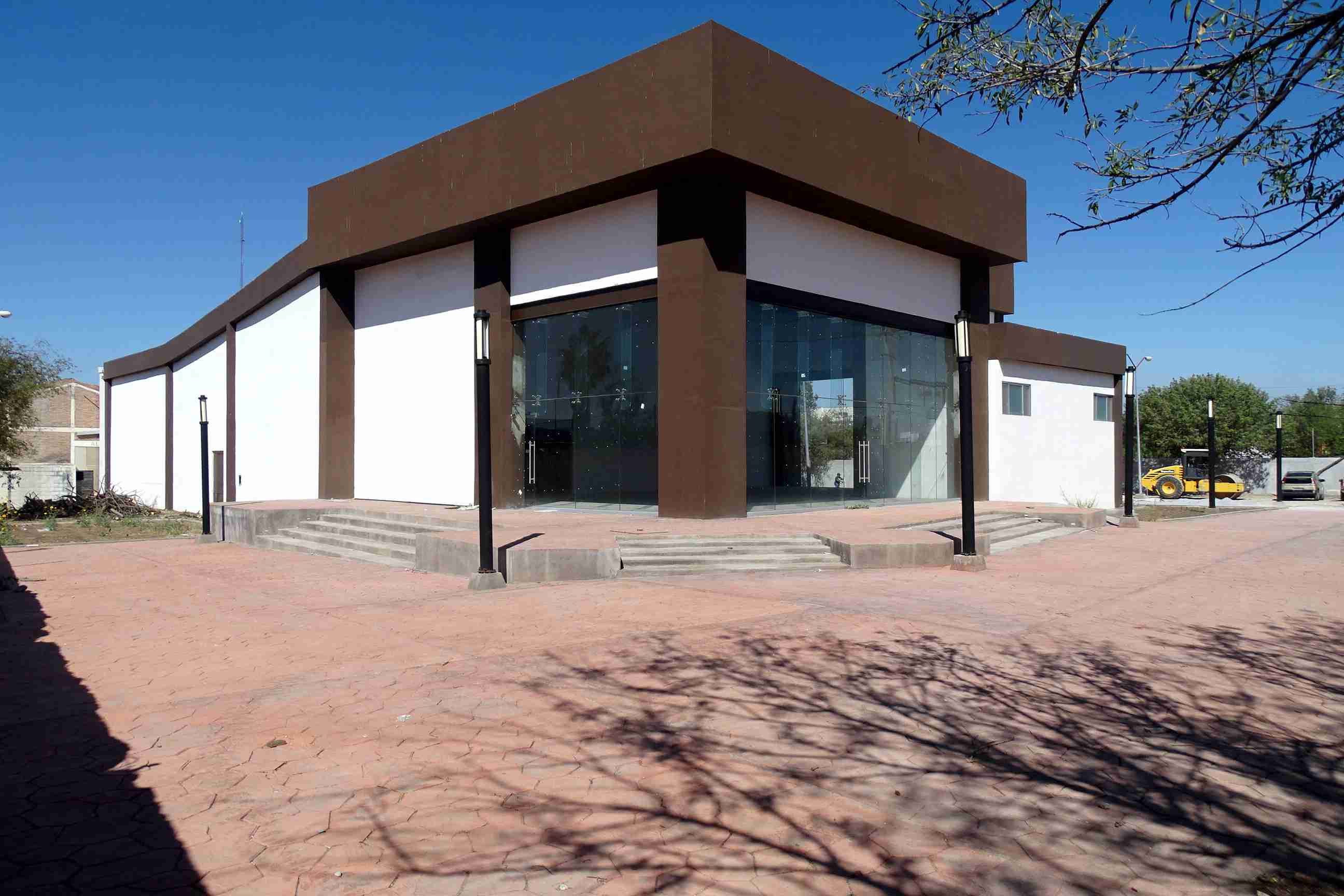meilleur service mode designer remise spéciale Avanza en un 85% construcción de Teatro de la Ciudad en ...