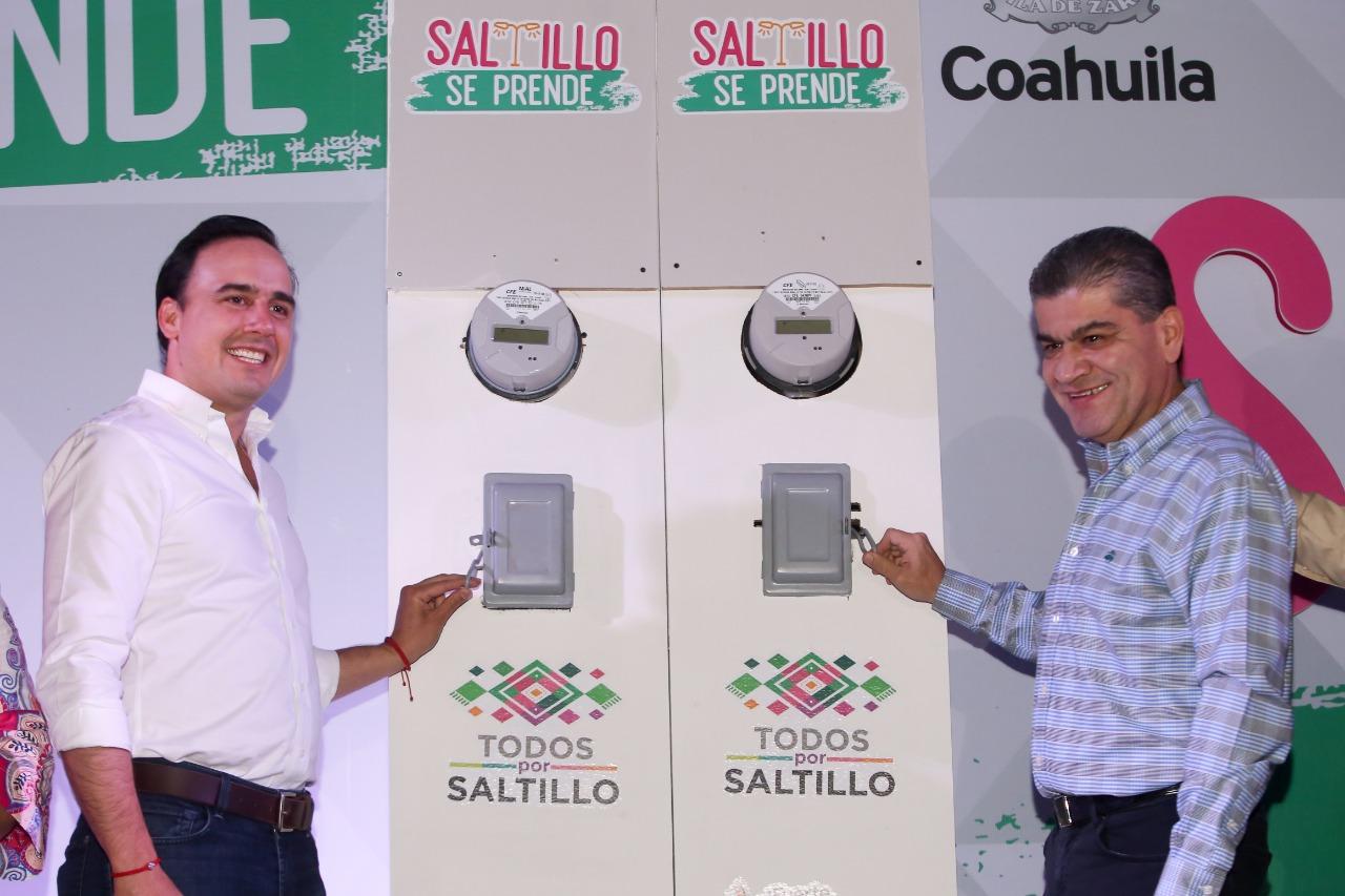 Saltillo se Prende mejoró calidad de vida de la población