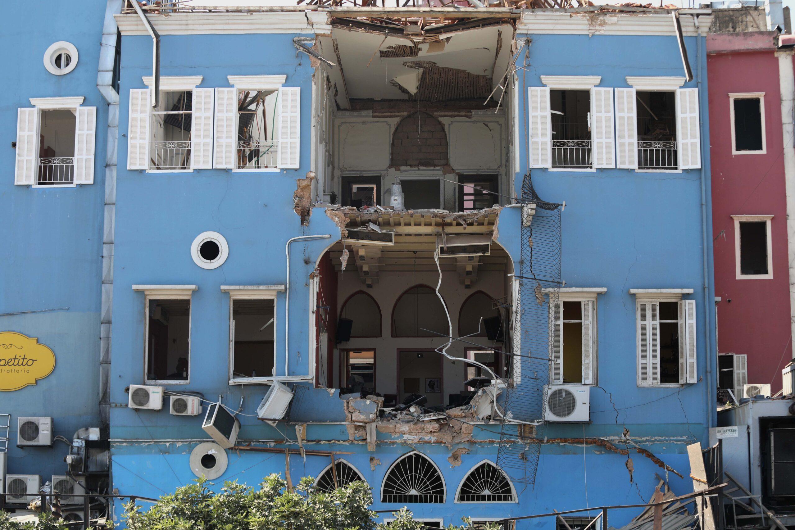 Explosiones en Beirut dañan 601 edificios patrimoniales | El ...