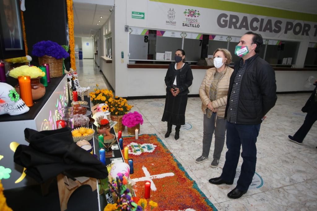 Municipio de Saltillo conmemora el Día de Muertos bajo la nueva normalidad