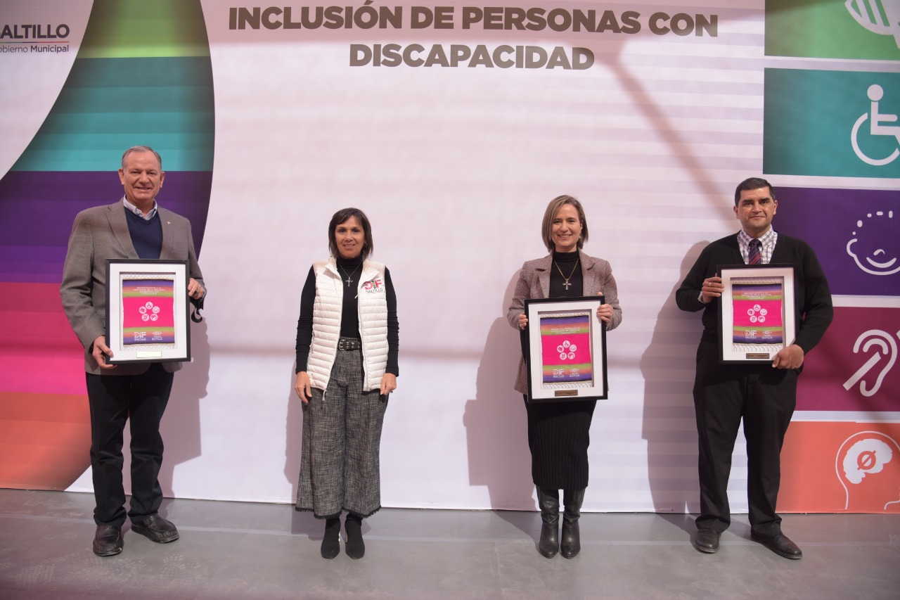 Premia DIF Saltillo la promoción de la inclusión de personas con discapacidad