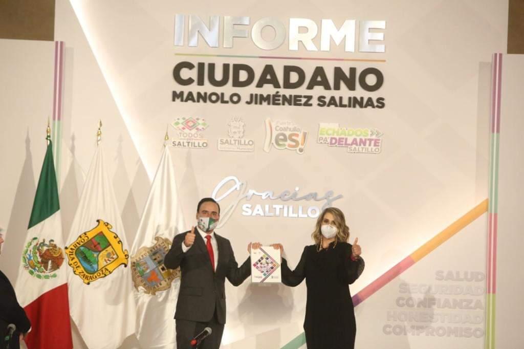 Echados pa' Delante Saltillo. Presenta Manolo Jiménez 3er Informe Ciudadano.