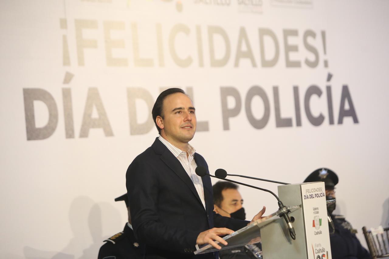 Reconoce Manolo a policías de Saltillo