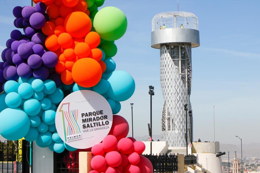 Cumple Parque Mirador Saltillo su primer aniversario