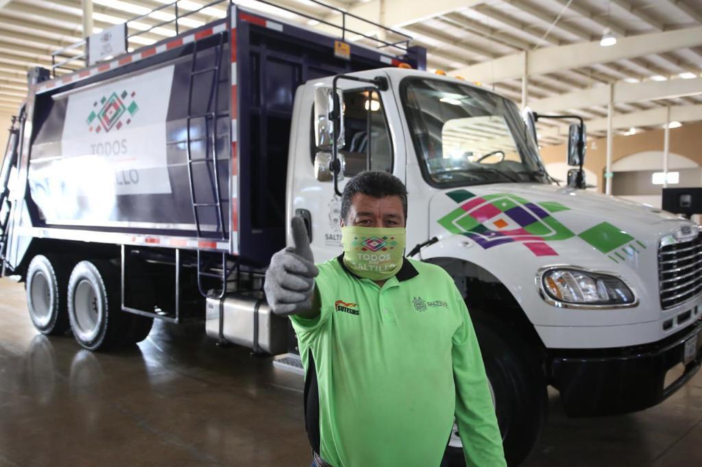 Fortalecen en Saltillo servicio de recolección de basura