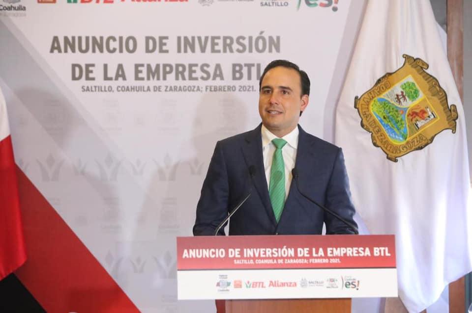 Destaca Manolo Jiménez competitividad de Saltillo