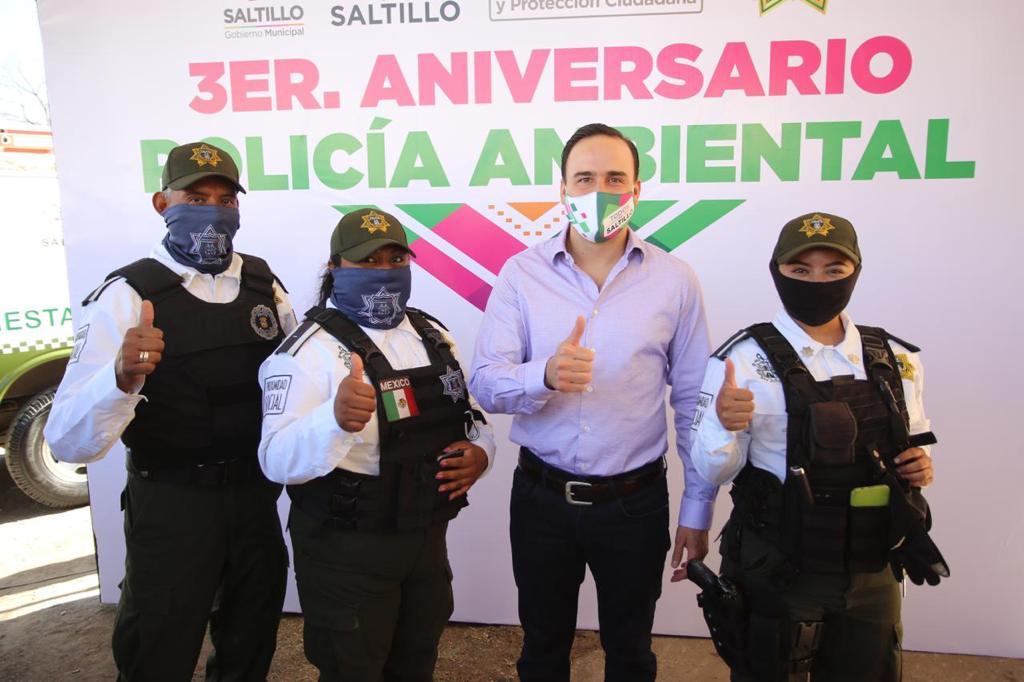 Cumple Policía Ambiental tres años de trabajo exitoso