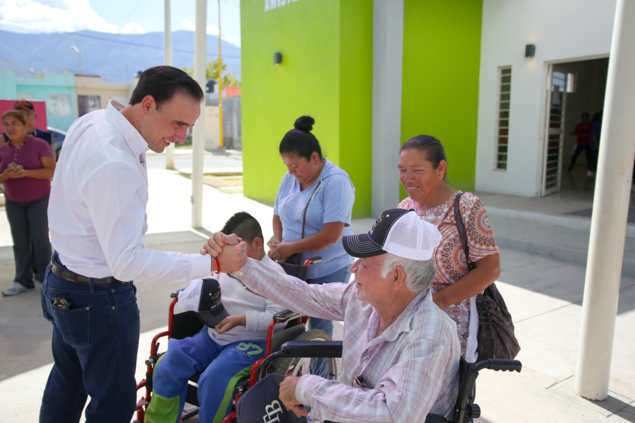 Trabaja Municipio por las familias saltillenses