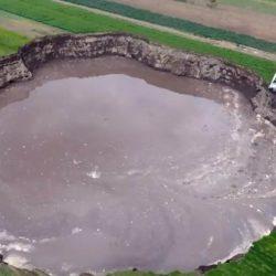 Socavones, fenómenos geológicos que ocurren con frecuencia1